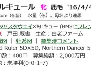☆2016年度産駒_20190813☆