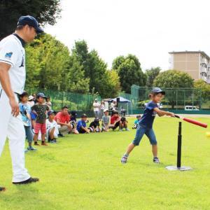 参加無料!埼玉西武ライオンズOB選手から教わる「親子キャッチボールイベント」開催