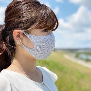 夏向けの涼しく蒸れにくいニットマスク
