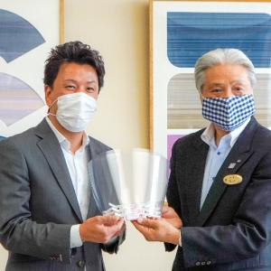 ファンテクノロジー 栃木県へフェイスシールド1,000枚を寄贈
