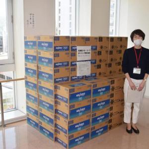 北海道コカ・コーラが新型コロナウィルスと向き合う医療従事者・保健所関係者へ「コカ・コーラ社製品120,000本」を寄贈