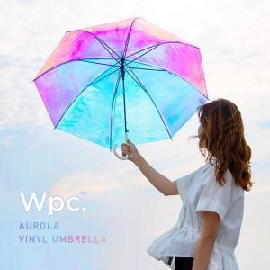 オーロラの様にキラキラ表情の変わるビニール傘