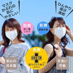 """家庭画報オリジナル「抗ウイルス """"夏用"""" 布マスク」"""