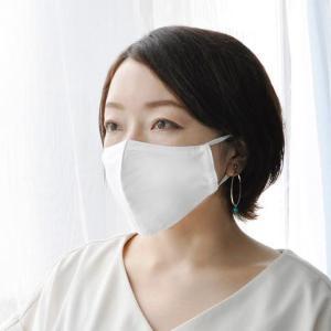 呼吸しやすく肌にやさしい女性のための夏仕様のマスク「涼 シルク擬紗(ギシャ)マスク」