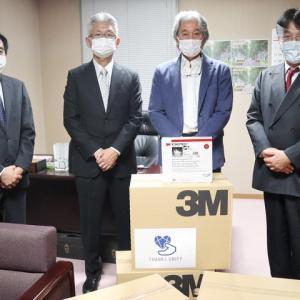 城北信金・災害備蓄「N95マスク」6000枚を都内6区の医師会へ寄贈