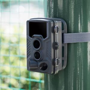 暗闇でも撮影できる赤外線センサー内蔵のセキュリティカメラ