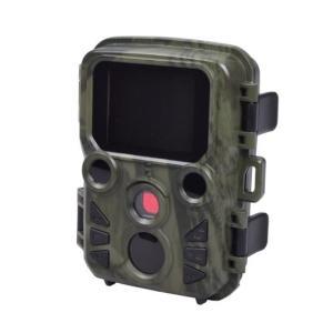 センサーが人や動物を感知し自動撮影する「赤外線無人撮影カメラ・ミニSTR-MiNi300」