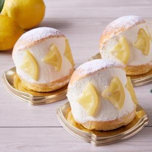 広島県尾道市瀬戸田町のレモンを使用したマリトッツォ