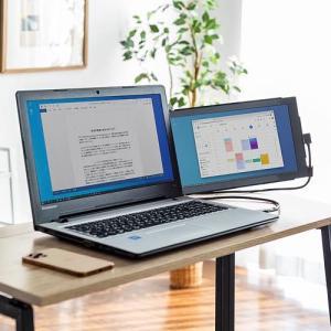 ノートパソコンの画面を拡張出来るモバイルモニター「400-LCD001N」