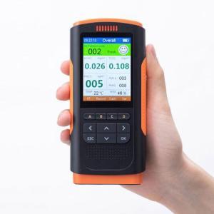 PM1.0/2.5/10の濃度、温度、湿度、ホルムアルデヒドを測定表示する測定器「CHE-PM25