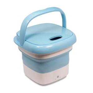 折りたたんで収納できる洗濯機「ROOMMATE® 折りたたみ式ポータブル洗濯機 mush RM-108TE」