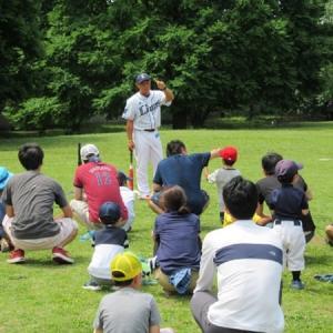 埼玉西武ライオンズOB選手から教われる親子キャッチボールイベント「PRAY-BALL!埼玉」開催