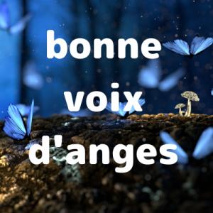 【フランス語の単語】bonne voix d'anges