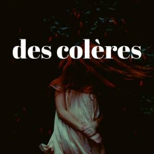 【フランス語の単語】des colères の意味は?