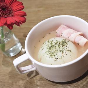 新玉ねぎ丸ごとスープ