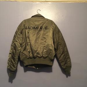 Alyx Bomber Jacket Military Green