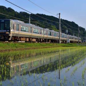 山陰本線 京都口 223系R1に縁があるようで…..2021.6.8