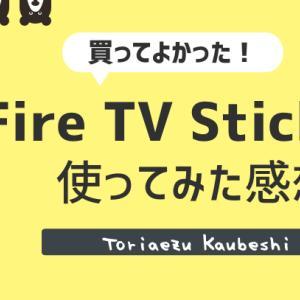【レビュー】Fire TV Stick 4K は最強コスパ!