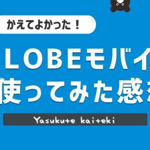 【レビュー】BIGLOBEモバイルを2年使ってみた感想!