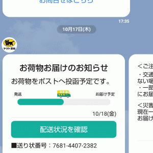 本日クロネコヤマトにクレーム。配達予定日より1日遅れ。大阪ベース店を通過してから駒川センターに届くまでに30時間もかかっていることが原因。ドラネコヤマトとは大国町でも駒川でもトラブルだらけ。