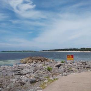 本日7月7日沖縄エメラルドビーチ上空壮絶地震雲。