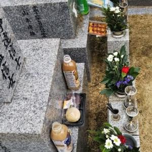 本日はお彼岸の中日。枚方長尾へ墓参り。大阪市の最高気温29.1度。暑い暑い。