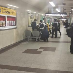 さすが人間と神様の間にいる私。本日谷町線天王寺駅で30分前に人身事故があったようですが影響なし。ホームにいる警官がいる理由が当初わかりませんでした。