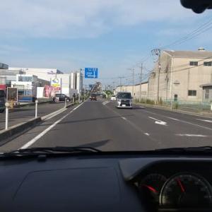 本日は美保関にあるホテルへ。途中今年もベタ踏みで有名な江島大橋を。