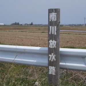 川釣り日記(令和2年5月①・南川放水路)