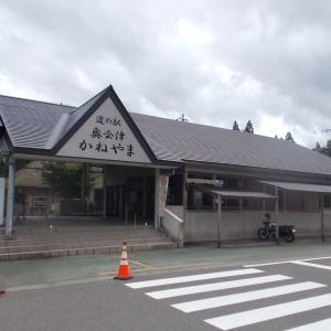 名産・名物食べ歩き(赤カボチャソフトクリーム・福島県大沼郡金山町)