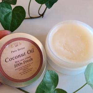 【ココロコスメ オーガニックココナッツオイル】は肌・髪・リップなどの全身ケアに効果的