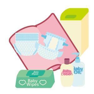 出産準備リストと選び方~オムツ用品のセッティング