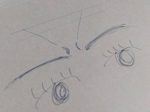 触角が生えるの巻🐛