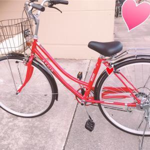 4~5年ぶりに自転車に!!!