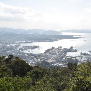 長崎の最後は弓張岳展望
