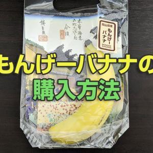 もんげーバナナの購入のしかた!岡山の天満屋以外で買う方法はある?