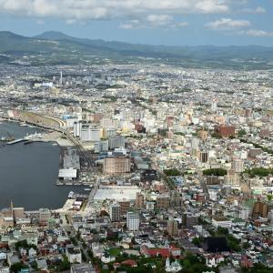 軽自動車で函館山に行ってきました