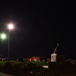 6月11日 夜明け前の啄木小公園