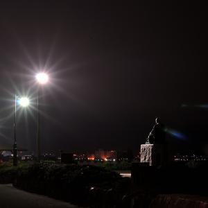 6月15日 夜明け前の啄木小公園