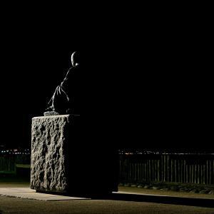 6月20日 夜明け前の啄木小公園