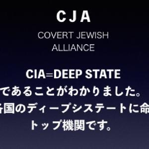 ディープステートの正体がわかりました。CIAです。【ユダヤ最高機関=CJAはCIAの名前に満足してるのだろな?】