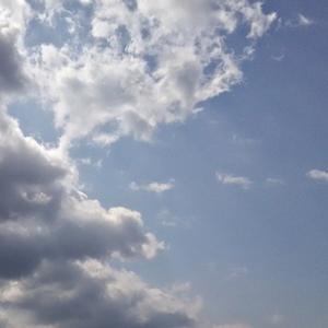 蛇雲と異次元さんと「見られている」(19.5.2.木)