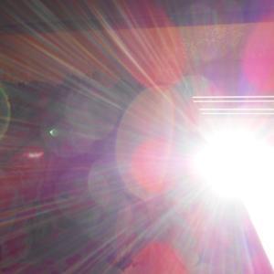 太陽曼荼羅と沢山のオーブたち(19.5.4.土)