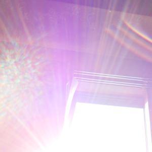 太陽曼荼羅とちょっと変わったレンズフレア(19.5.13.月)