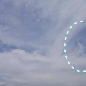 女神と鳳凰と龍雲・蛇雲と「7」(19.6.6.木)