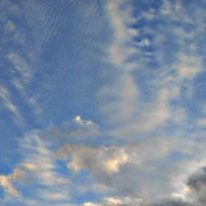 涙する魔界さん?大気重力波の中に現れる沢山の目。(19.11.28.木)
