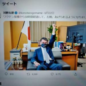 河野大臣のツイート