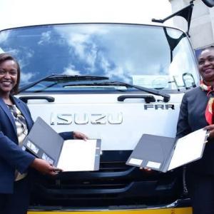 【現地報道に見るケニア市場の状況】いすゞ自動車とファミリー銀行が中小企業の商用車の購入支援で提携:2020年6月30日付けStar紙