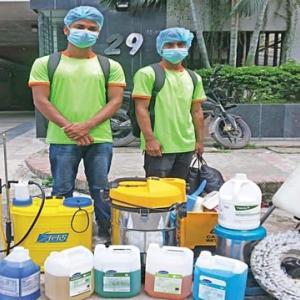 【現地報道に見るバングラデシュ市場の状況】清掃会社による消毒サービスが活況:2020年7月31日付けDaily Star紙