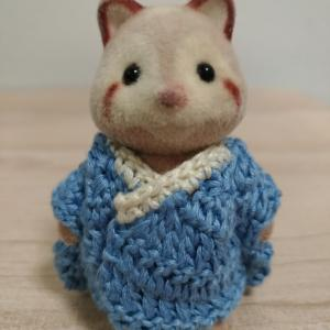 初心者がかぎ針編みでシルバニアのドール服を編んでみた70